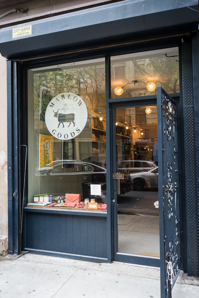 Marlow Goods, The Shopkeepers Guide to the East Village