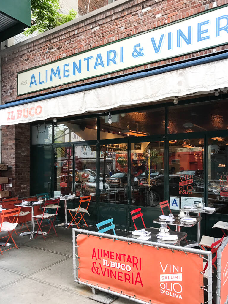 Il Buco Alimentari & Vineria, The Shopkeepers Guide to the East Village