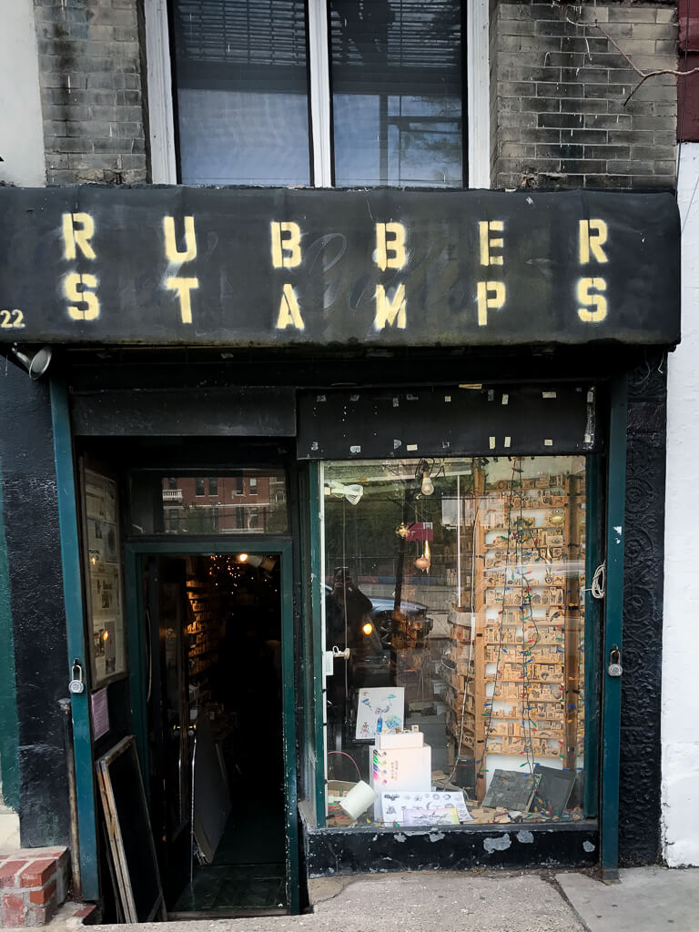 Rubber Stamps, The Shopkeepers Guide to the East Village