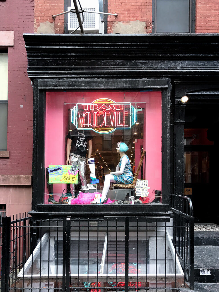 Trash and Vaudeville, The Shopkeepers Guide to the East Village
