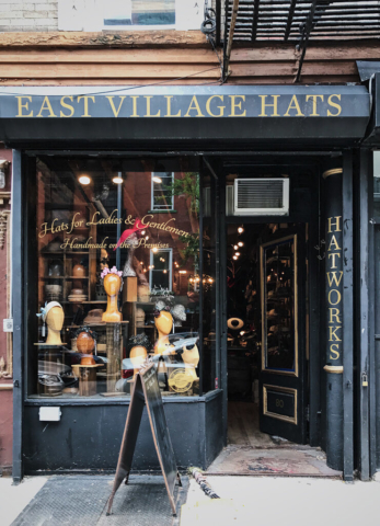East Village Hats, The Shopkeepers Guide to the East Village