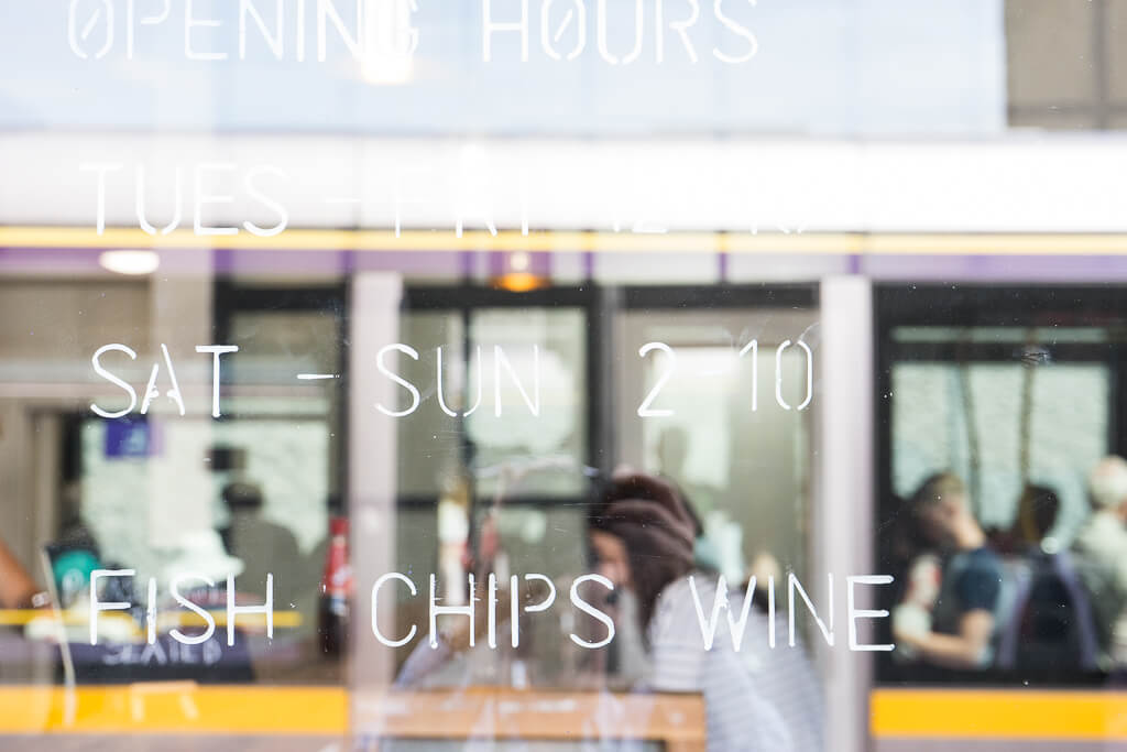 Fish Shop, The Shopkeeper's Going Places Guide to Smithfield & Stoneybatter, Dublin.