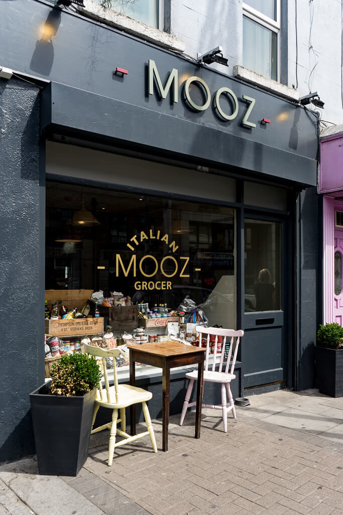 Mooz, The Shopkeeper's Going Places Guide to Smithfield & Stoneybatter, Dublin.