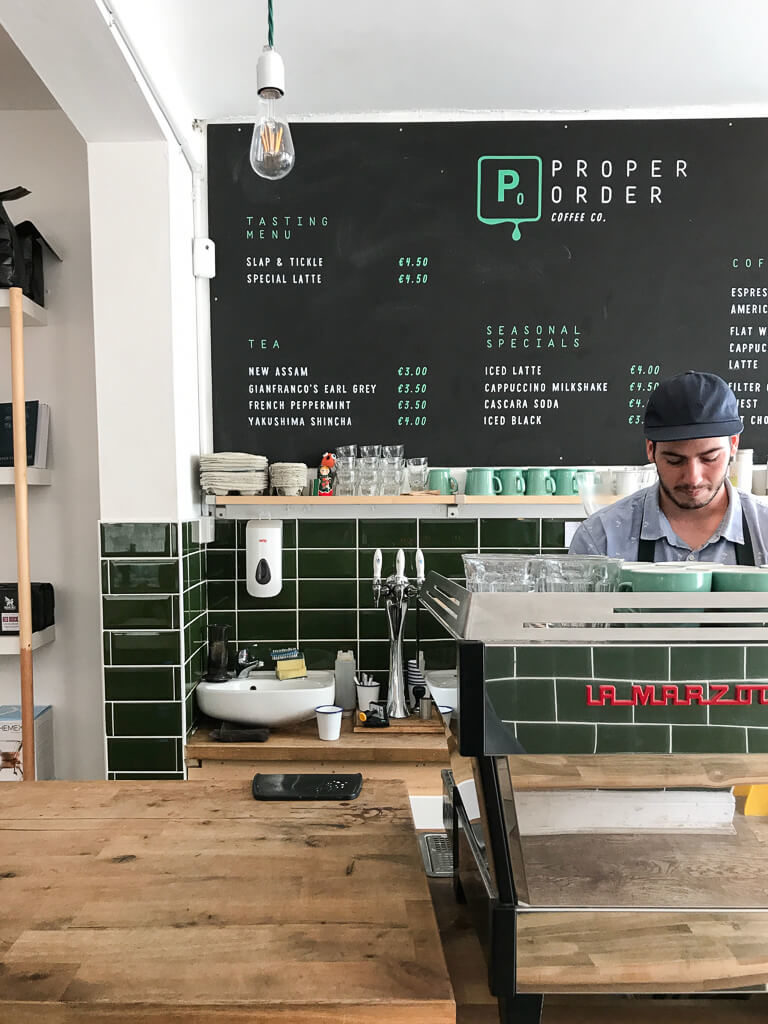 Proper Order Coffee Co., The Shopkeeper's Guide to Smithfield & Stoneybatter, Dublin