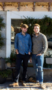 Scott Neild and Michael Cook, Shopkeepers at Clove & Creek. Photo And North
