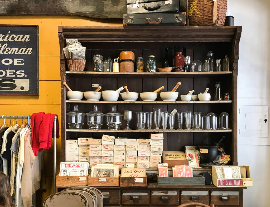 Outdated: An Antique Cafe - The Shopkeeper's Going Places Guide to Kingston
