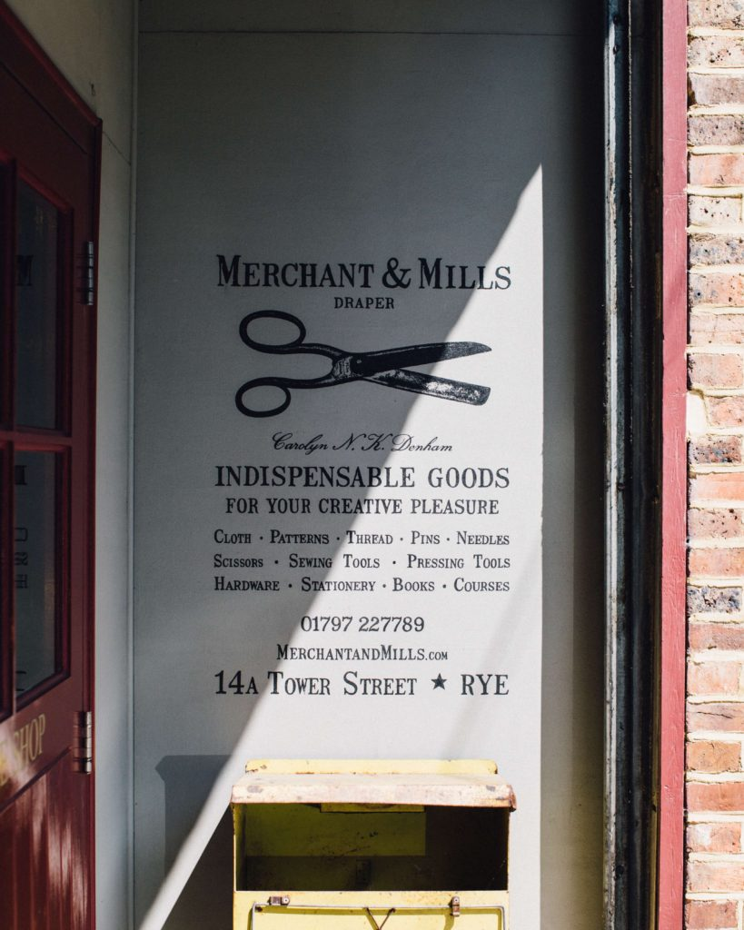 Merchant and Mills, Rye