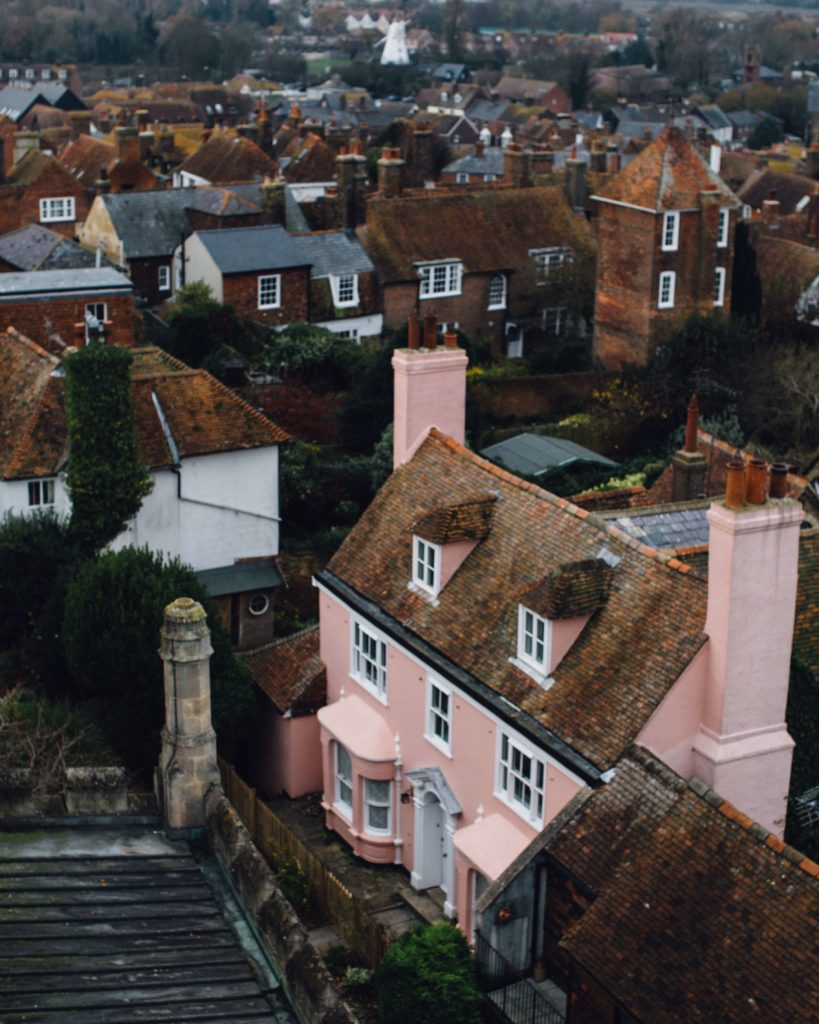 The Pink House, Rye