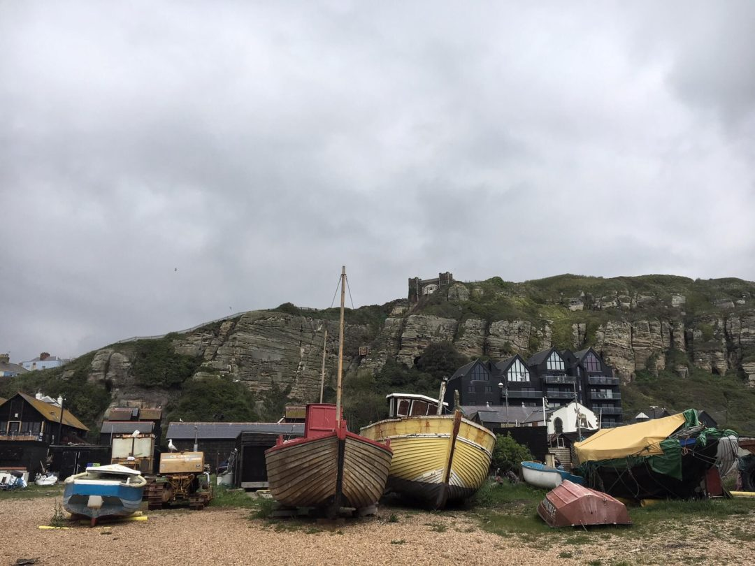 Beached Boats, Hastings, UK