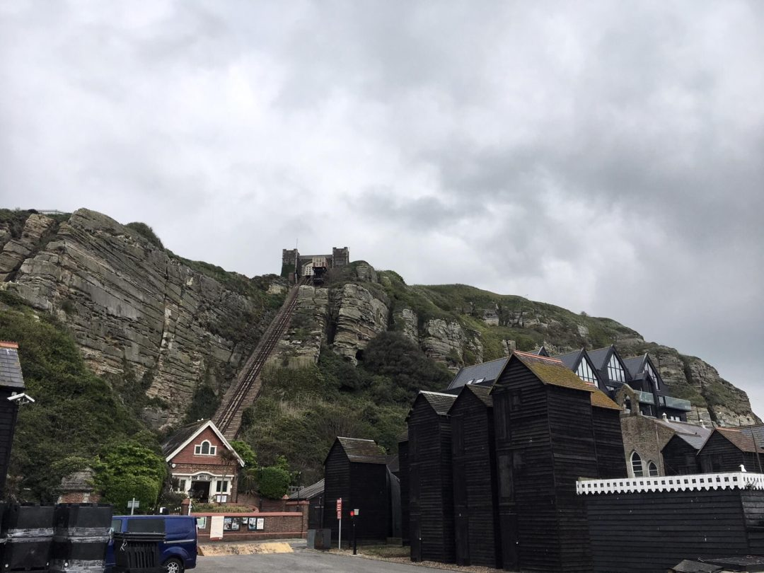 East Hill Funicular, Hastings, UK