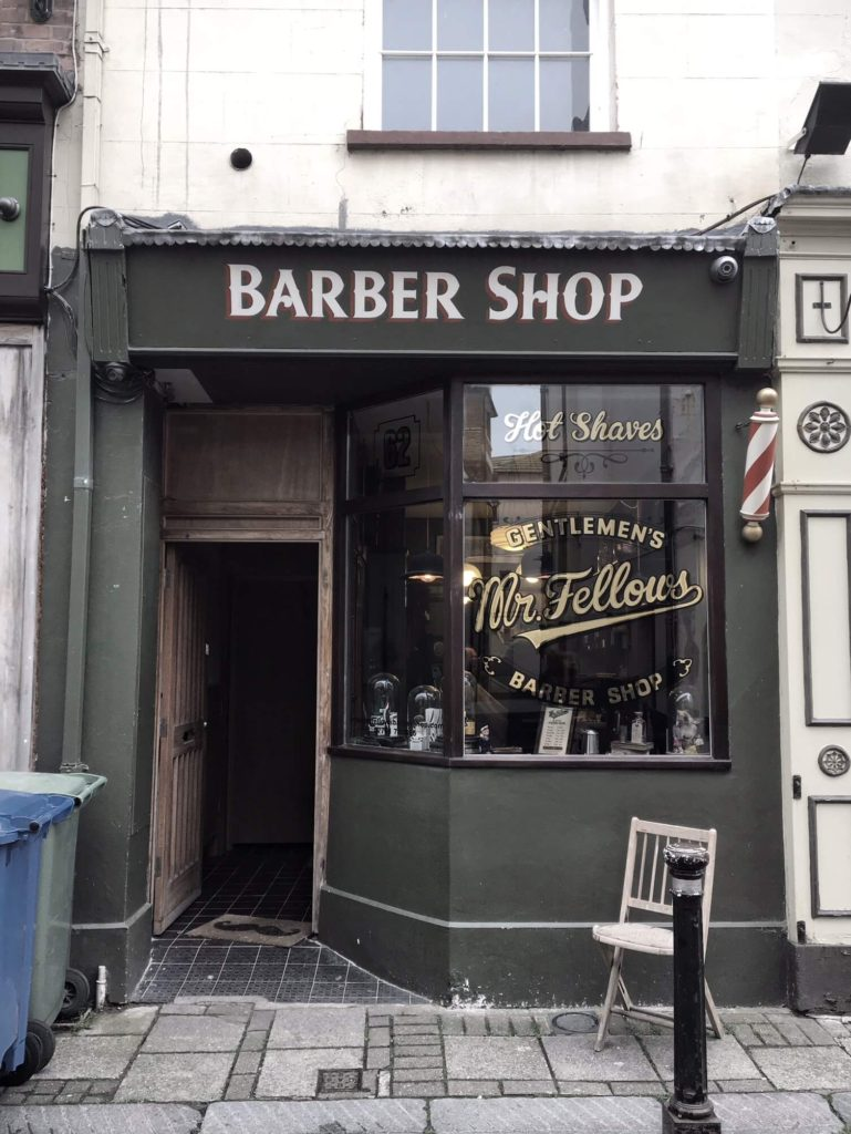 Barber Shop, Hastings, UK