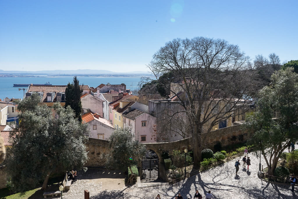 Lisbon views from Castelo de S. Jorge