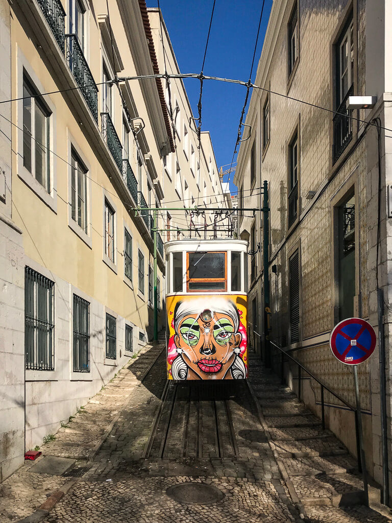 Decorative Trams of Lisbon
