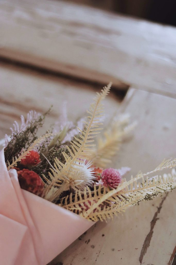East Olivia florals at Marche Maman, New York