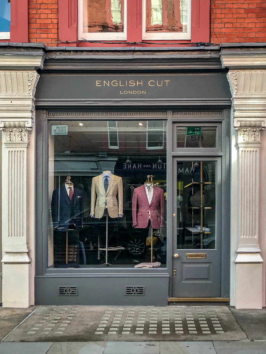 English Cut, The Shopkeepers Going Places guide to Marylebone, London.