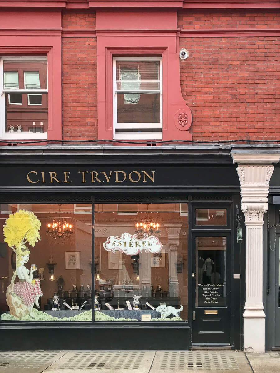 Cire Trudon, The Shopkeepers Going Places guide to Marylebone, London.