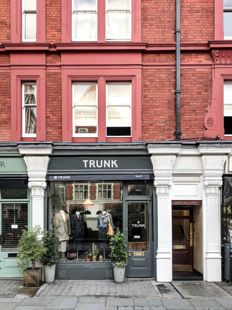 Trunk, The Shopkeepers Going Places guide to Marylebone, London.