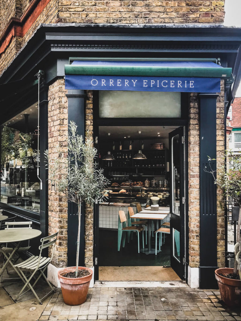 Orrery Epicerie, The Shopkeepers Going Places guide to Marylebone, London.