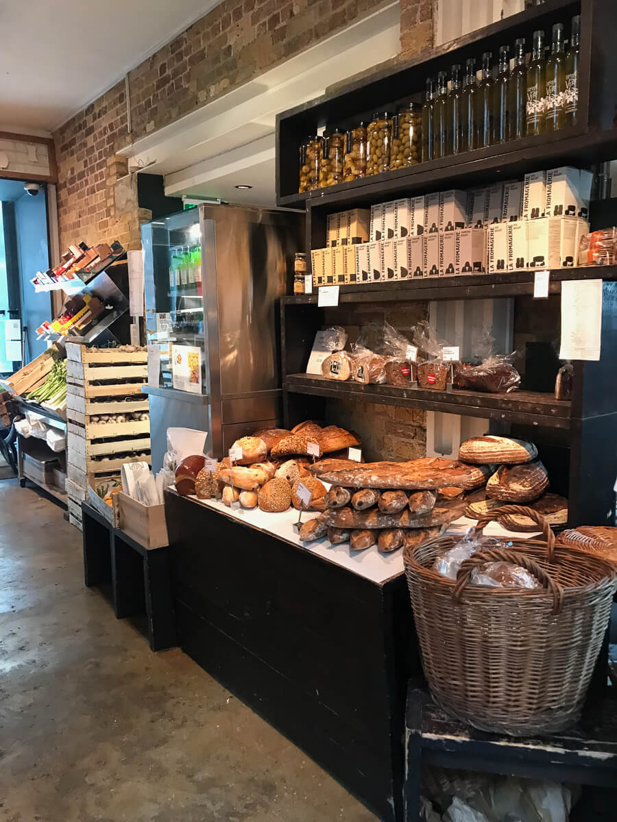 La Fromagerie, The Shopkeepers Going Places guide to Marylebone, London.