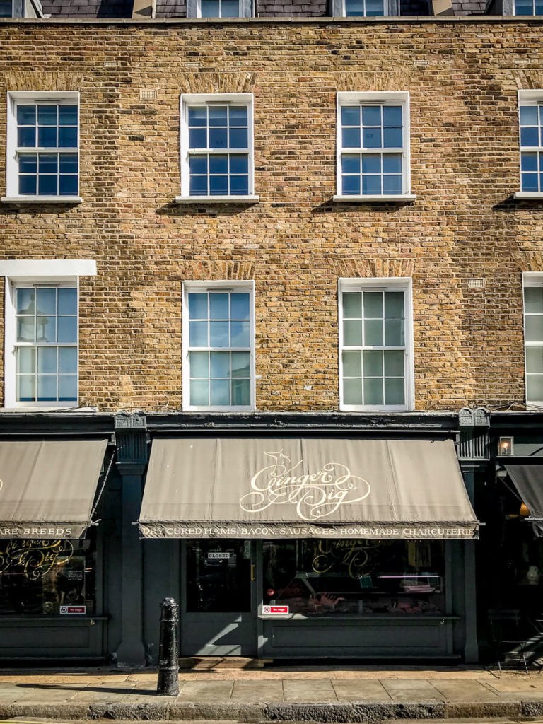 Ginger Pig, The Shopkeepers Going Places guide to Marylebone, London.
