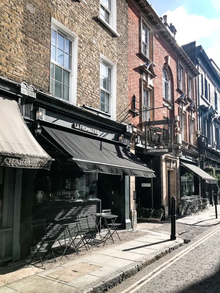 The Shopkeepers Going Places guide to Marylebone, London.