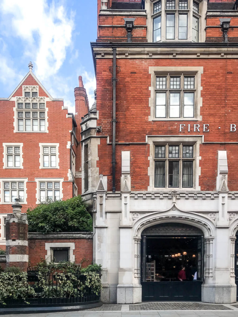 Chiltern Firehouse, The Shopkeepers Going Places guide to Marylebone, London.