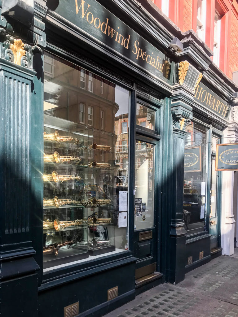 Howarth of London, The Shopkeepers Going Places guide to Marylebone, London.