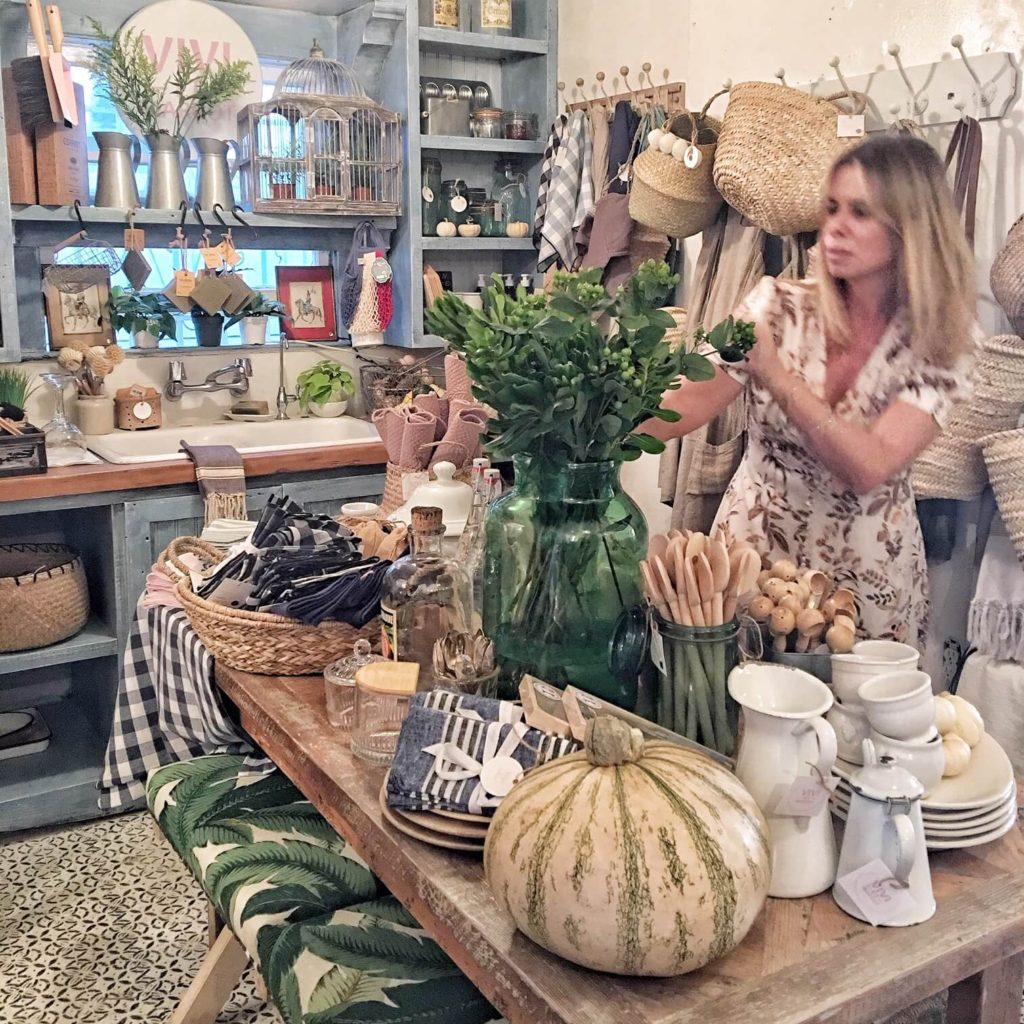 Vivi et Margot pop-up at Tumbleweed & Dandelion, Venice CA