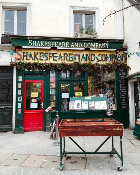 Best Book shops 2018 shakespeare an