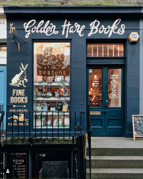 Best Book Shops 2018 Golden Hare Books