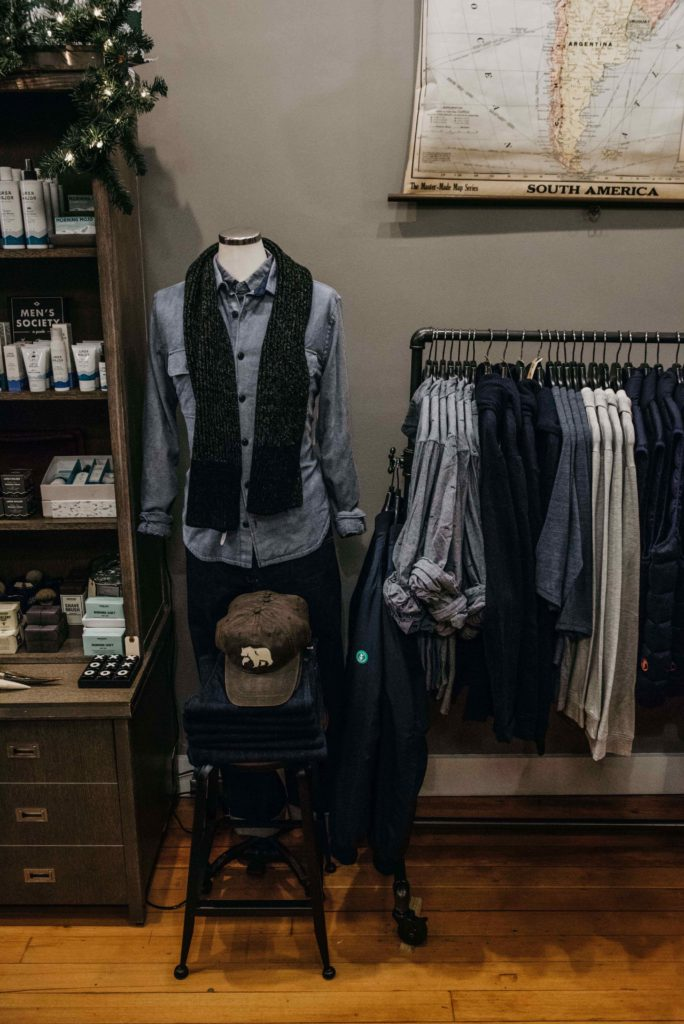 Hamilton and Adams, Kingston menswear shop