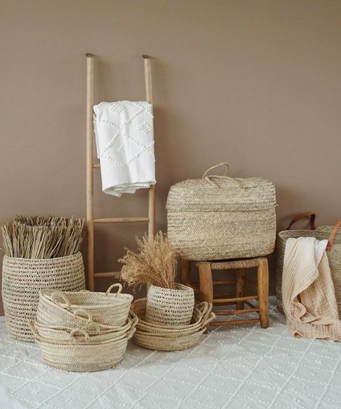 Mikanu baskets and natural home goods