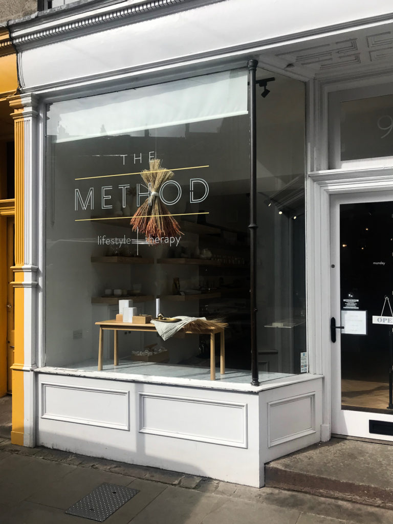 The Method, 16 favorite Edinburgh shops