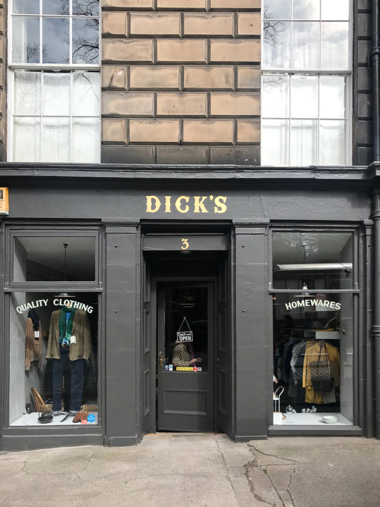 Dick's, 16 favorite Edinburgh shops