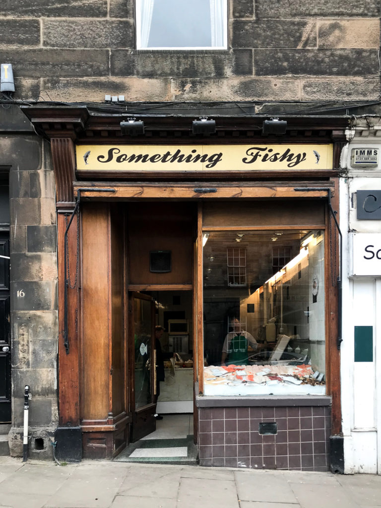 Something Fishy, 16 favorite Edinburgh shops