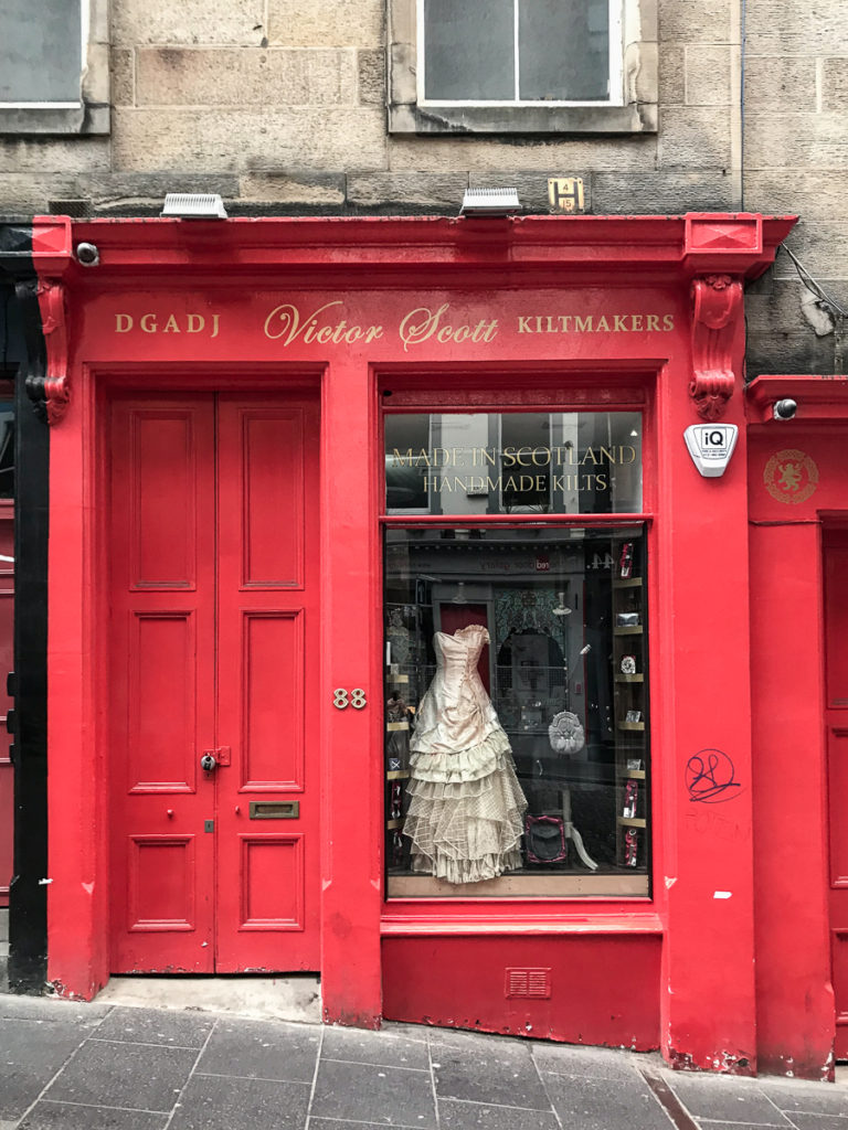 Victor Scott, 16 favorite edinburgh shops