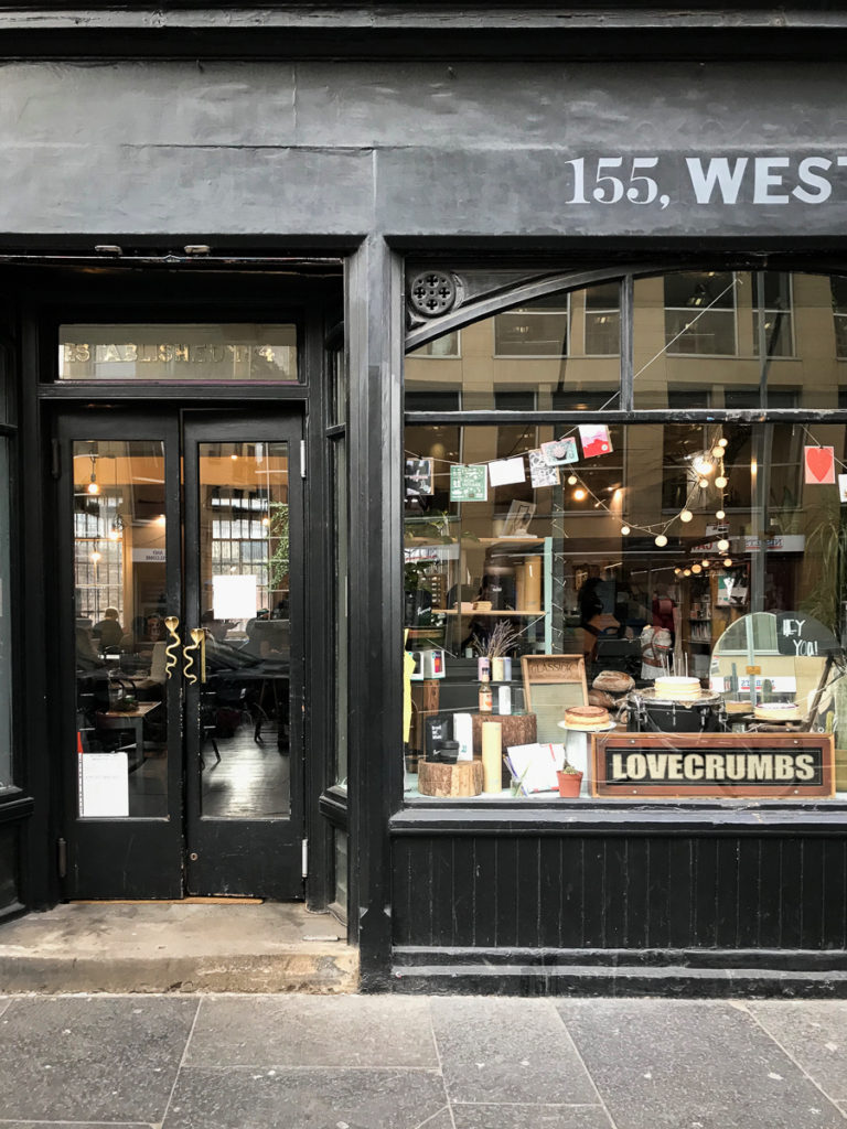 Lovecrumbs, 16 favorite Edinburgh shops