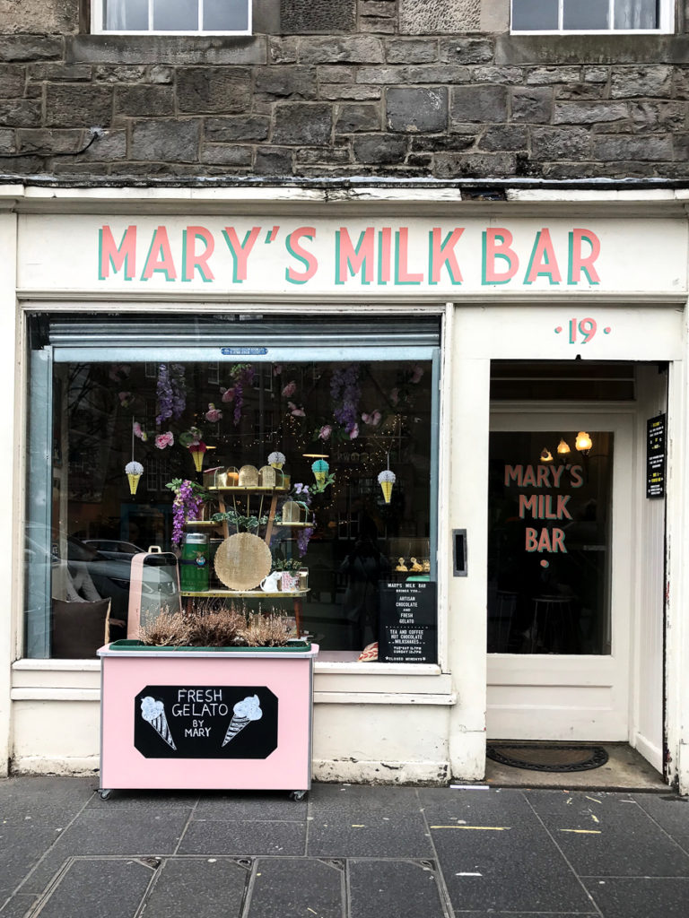 Mary's Milk Bar, 16 favorite edinburgh shops