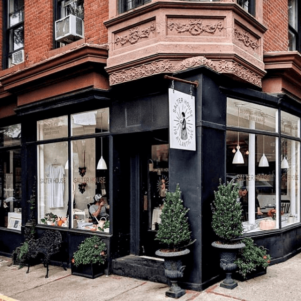 Salter House, coffee shop and lifestyle shop, Brooklyn