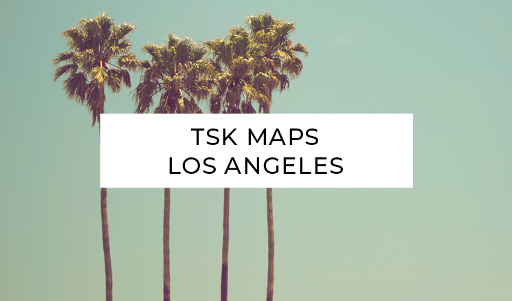 TSK Maps Los Angeles