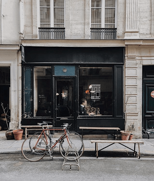 Fragments, Best Paris Coffee Shops