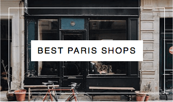 Best paris Shops