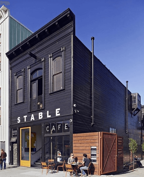 Stable cafe, best coffee shop San Francisco