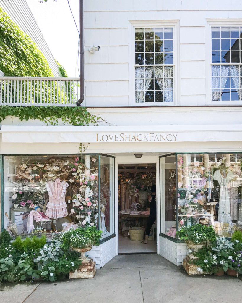 Love Shack Fancy, Best Hamptons Shops