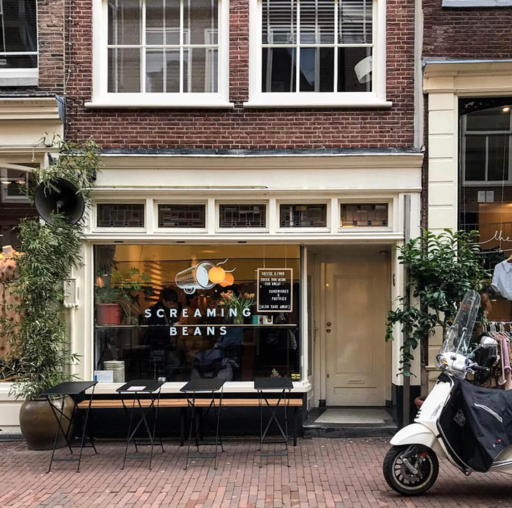 screaming beans, best amsterdam coffee shops