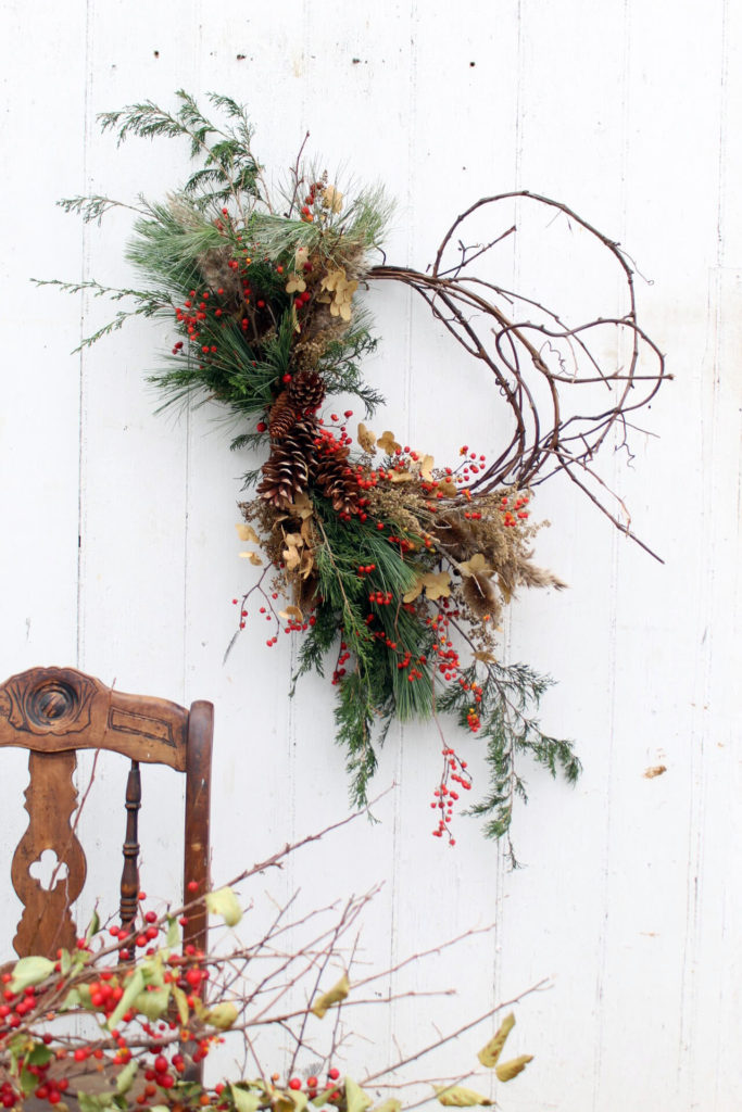 Winter Wreath at Hort and Pott