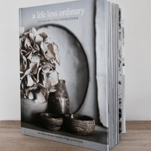 A Life Less Ordinary, interiors and inspiration book by i gigi general store