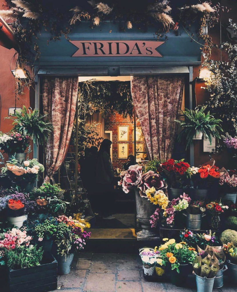 Frida's, The Flower Shopkeepers Top Instagram Posts