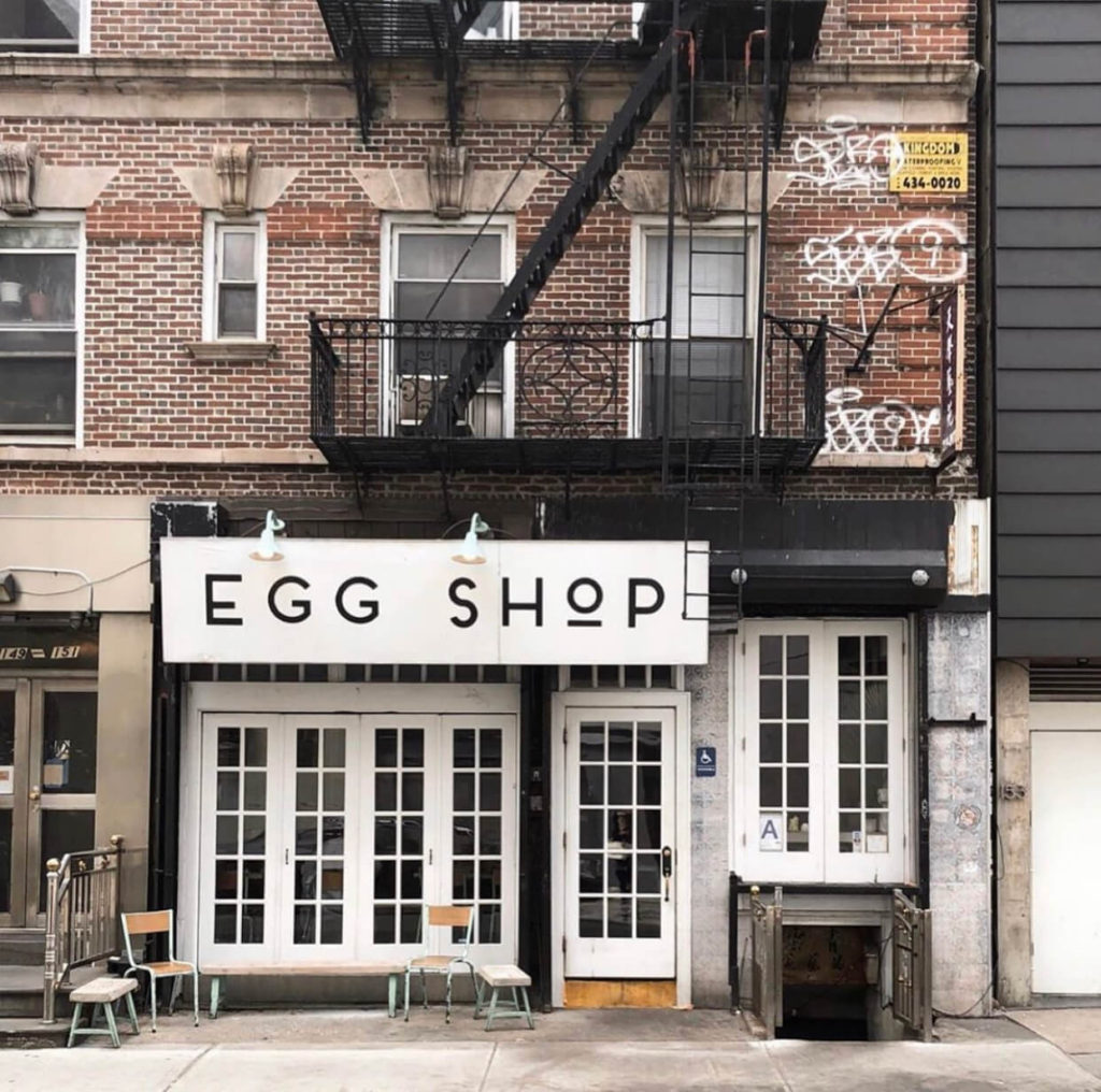Egg Shop, New York
