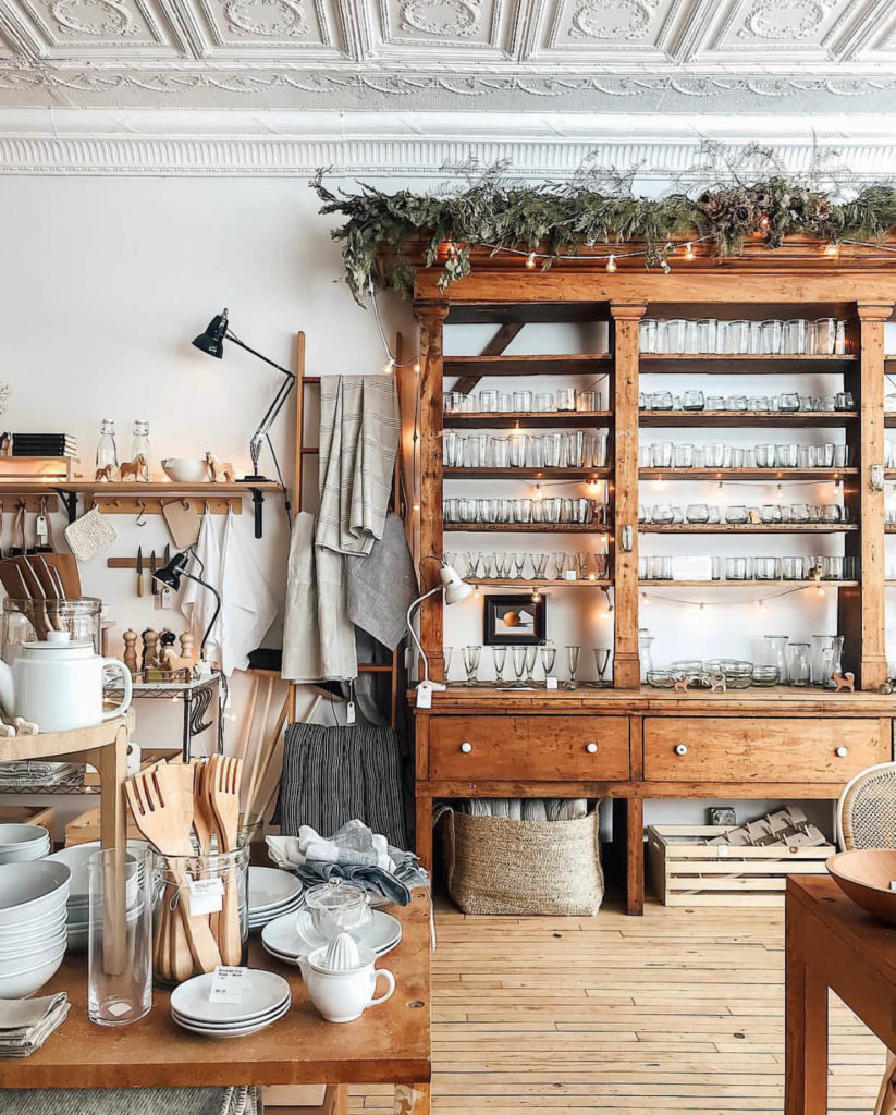 Home wares at The Foundry Home Goods